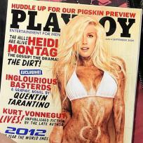 Heidi Montag Playboy Cover