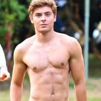 Zac Shirtless