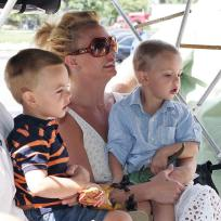 Britney, Sean and Jayden Federline