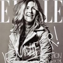 Jennifer aniston elle cover