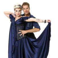 Kelly Osbourne and Louis van Amstel