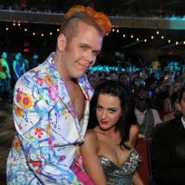 Perez Hilton and Katy Perry