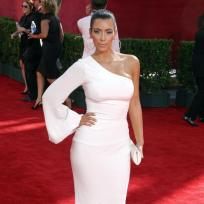 Kim at the Emmys