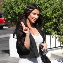 Do you like Kim Kardashian as a hippie?