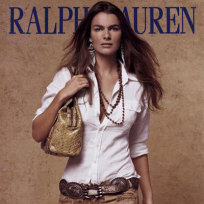 Filippa hamilton in ralph lauren