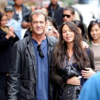 Oksana Grigorieva and Mel Gibson Picture