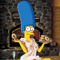 Marge Simpson Playboy Photo