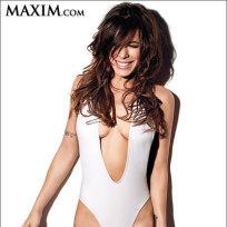 Elisabetta Canalis in Maxim