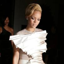 Rihanna wedding dress