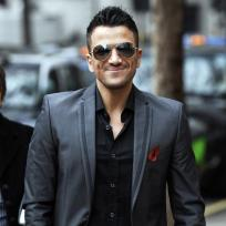 Peter andre smiles