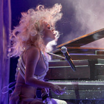 Gaga at the amas