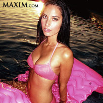 Hot in maxim