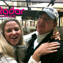Michael Lohan and Kate Major