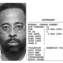 Conrad Murray Mug Shot