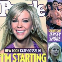 Which hairstyle looks better on Kate Gosselin?
