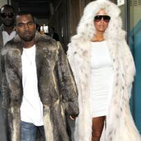 What do you think of Kanye and Amber's fur coats?