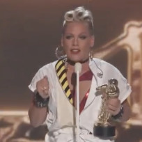 Pink's Grammy outfit was...