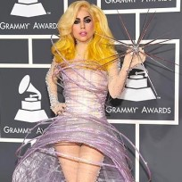 Lady Gaga's Grammy outfit was ...