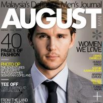 August man cover