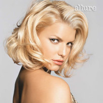 Jessica Simpson's hair looks better with ...