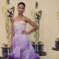 What did you think of Zoe Saldana's Academy Awards dress?