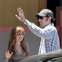 Sacha Baron Cohen and Isla Fisher Picture