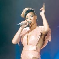 Rihanna fashion statement