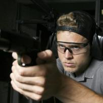 Spencer Pratt with a Gun