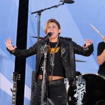 Miley on GMA