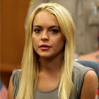 Lohan at Sentencing