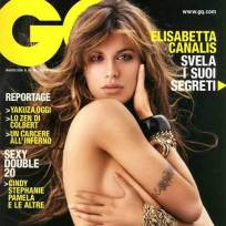 Elisabetta Canalis on GQ