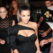 Do you like Kim Kardashian's dress?