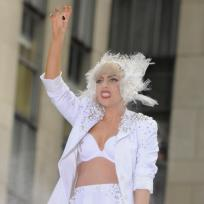 Gaga in Concert Pic