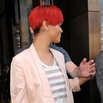Rihanna Neck Tattoo #1