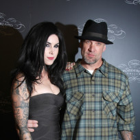 Jesse James and Kat Von D