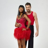 Brandy and partner Maksim Chmerkovskiy