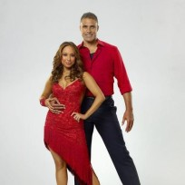 Cheryl Burke and Rick Fox