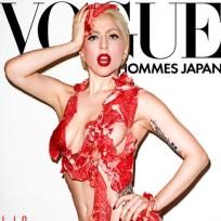 Lady gaga meat bikini