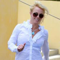 All smiles from britney