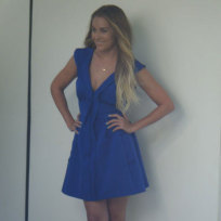 Lc-in-a-blue-dress