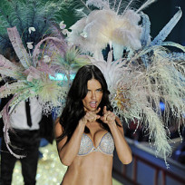 Adriana Lima on the Runway