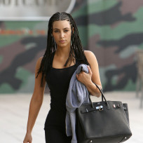 What do you think of Kim Kardashian with cornrows?