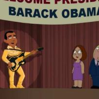 Obama on Family Guy