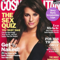 Is this cover shot of Lea Michele inappropriate?