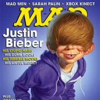 Justin Bieber Mad Magazine Cover