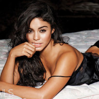 Hudgens in Lingerie