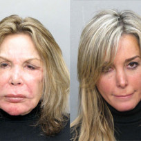 Motherdaughter mug shots
