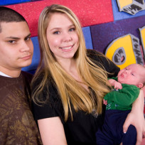 Jonathan Rivera and Kailyn Lowry