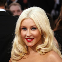 Xtina-at-the-golden-globes