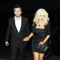 Matt Rutler and Christina Aguilera